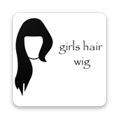 Girls Hair Wig icon