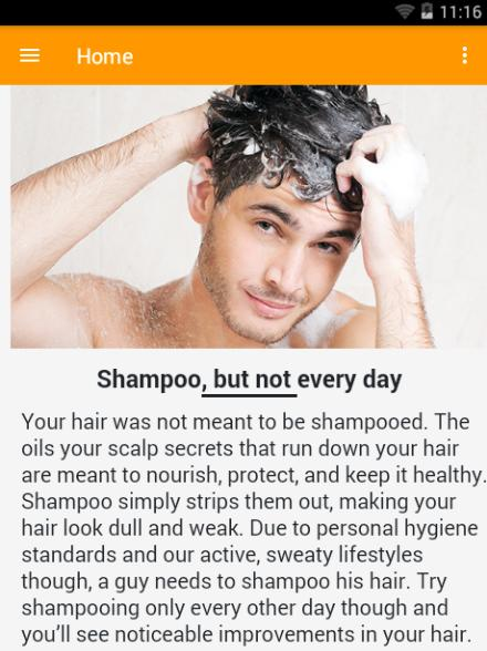 Hair Care Tips For Men For Android Apk Download