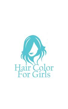Hair Color For Girls apk screenshot