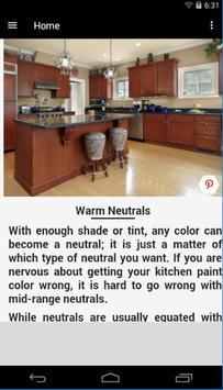 Kitchen Paint Colors poster