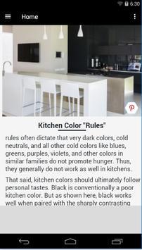 Kitchen Paint Colors apk screenshot