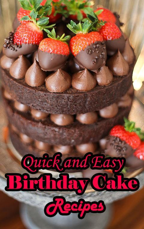 Incredible Quick And Easy Birthday Cake Recipes For Android Apk Download Personalised Birthday Cards Veneteletsinfo