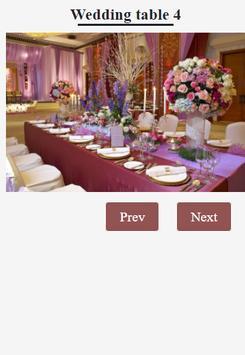 Wedding Table Decorations Ideas apk screenshot