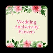 Wedding Anniversary Flowers icon