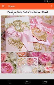Wedding Invitation Cards Design screenshot 1