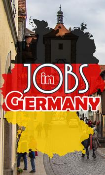 Jobs in Germany poster