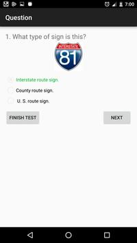 Georgia DMV Practice Test screenshot 2