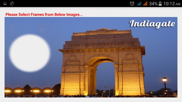 India Famous Place Photo Frame apk screenshot