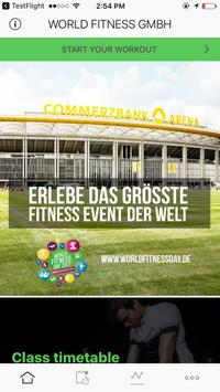 World Fitness Day poster