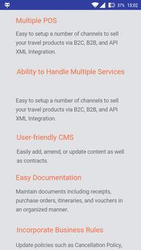 Travel Agency Software apk screenshot