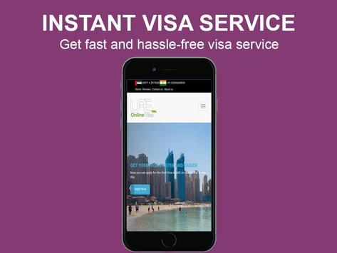 Dubai Visa apk screenshot