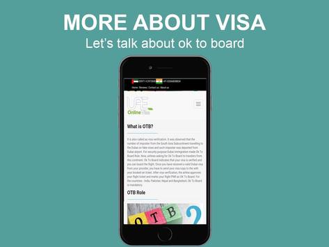 Dubai Visa poster