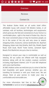 Dubai Visa - Tour & Packages apk screenshot