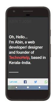 ABIN T JOSE apk screenshot