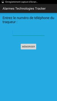 Alarmes Technologies Tracker apk screenshot
