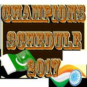 Champion Schedule 2017 icon