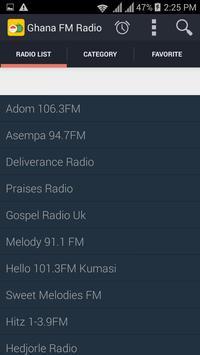 Ghana Radios screenshot 1