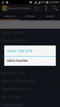 Ghana Radios screenshot 8