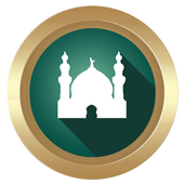 Prayer times and Qibla icon