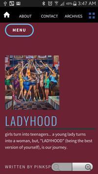 LADYHOOD Blog poster