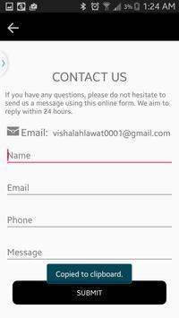 Vishal Ahlawat's Blog apk screenshot