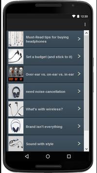 Best Headphones screenshot 1