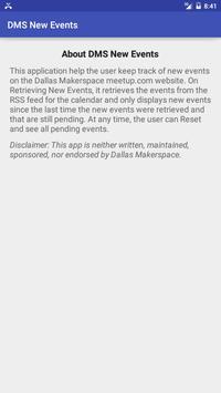Dallas Makerspace New Event Tracker apk screenshot