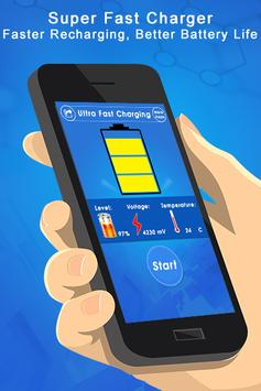 Fast Battery Charging : Extend 5X Battery Life poster