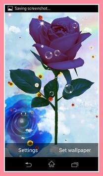 Rose Live Wallpaper apk screenshot