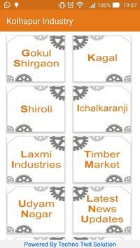 Kolhapur Industry poster