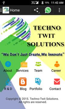 Techno Twit Solutions poster