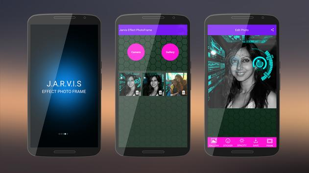 Jarvis Effect PhotoFrame apk screenshot