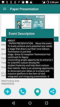 Technozion 2016 apk screenshot