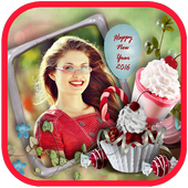 Photo Frames New Year 2016 icon