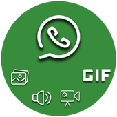 Chat App Media Gallery icon