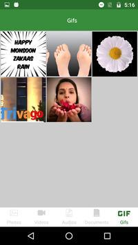 Chat App Media Gallery screenshot 4