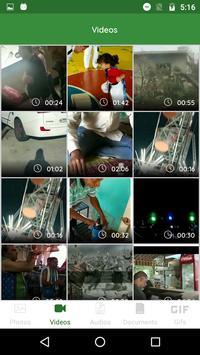 Chat App Media Gallery screenshot 1
