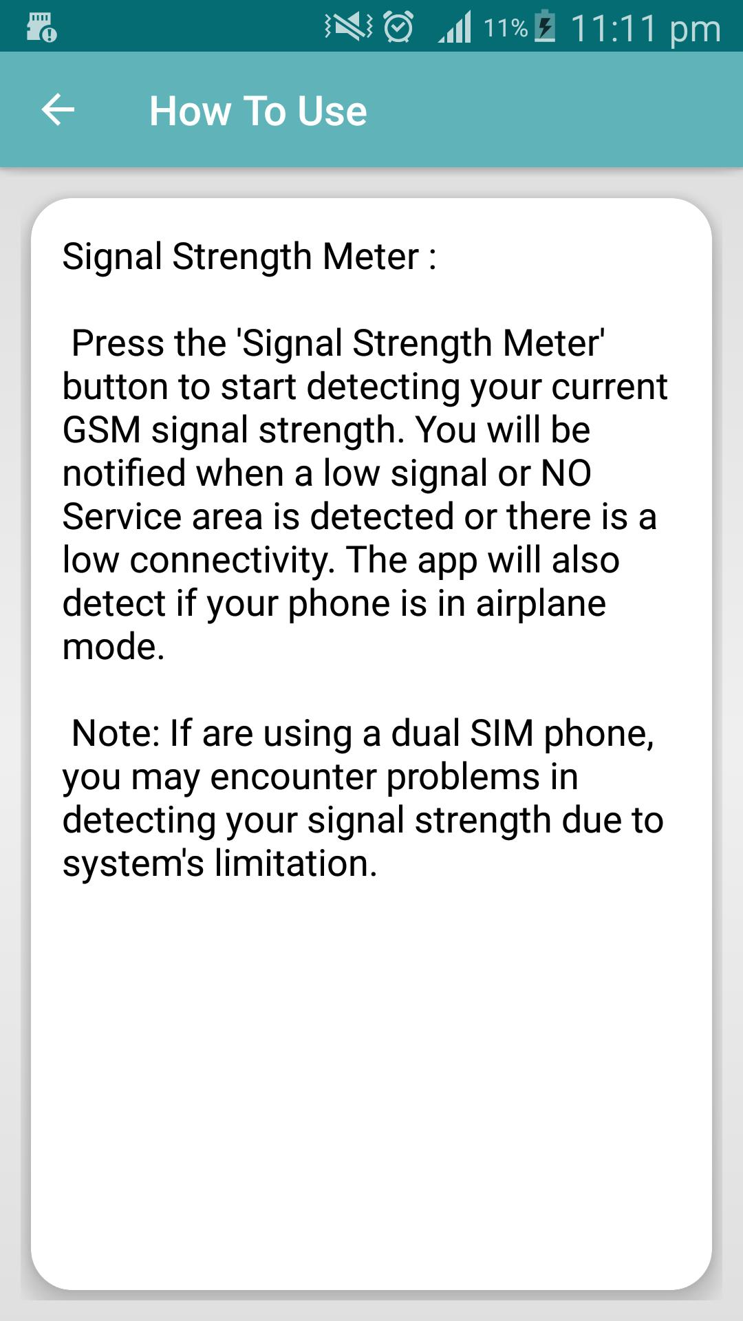 Signal Strength Meter for Android - APK Download