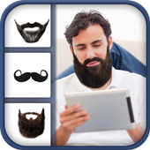 Man Mustache Beard Style Pro icon
