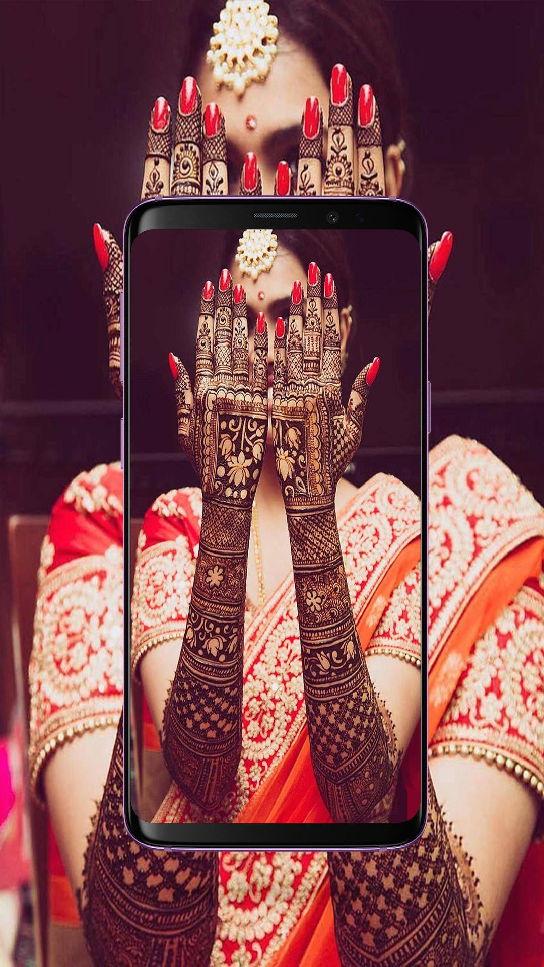 Image result for Bridal Mehndi Designs with mantra