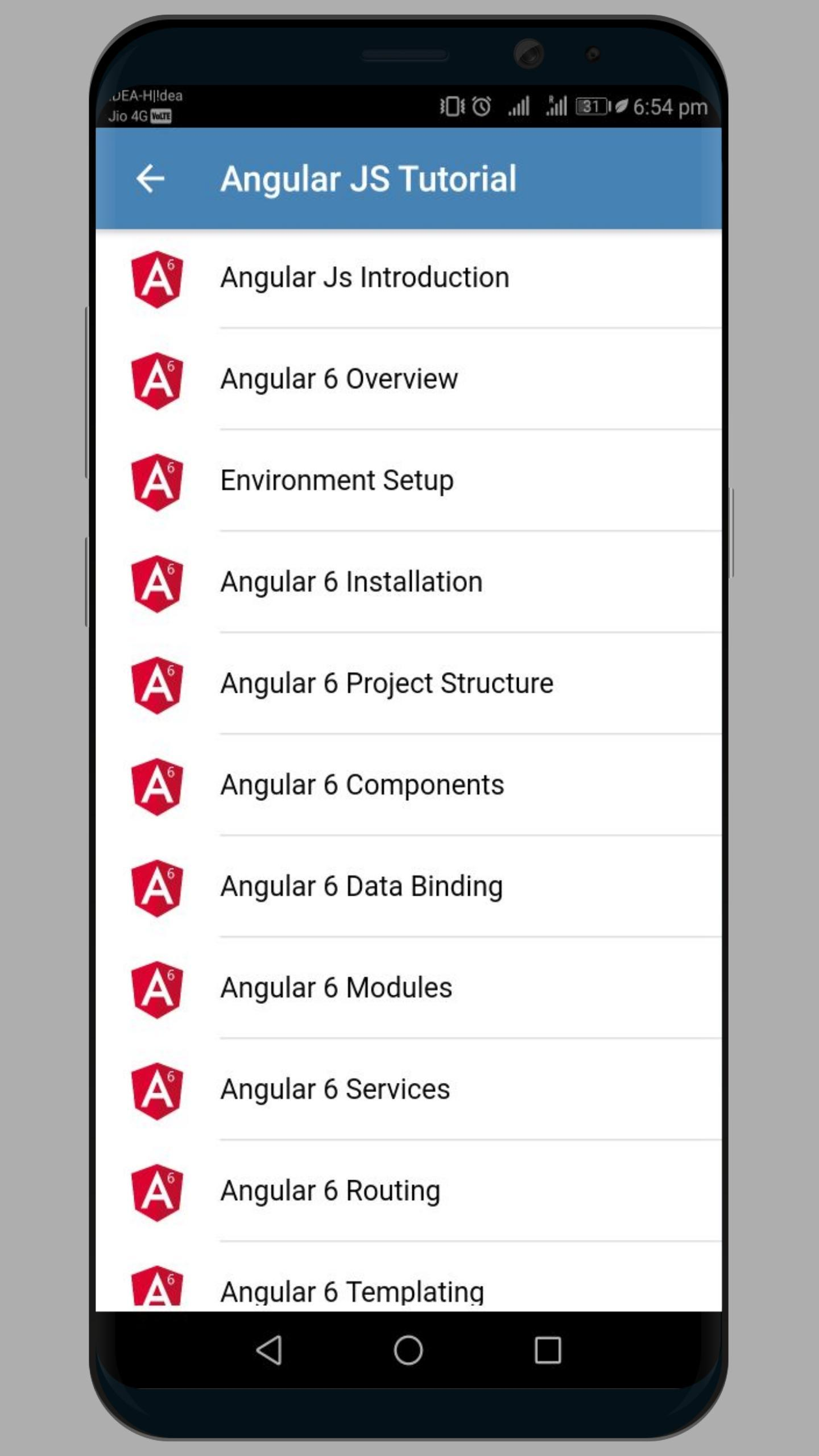 Angular 6 for Android - APK Download