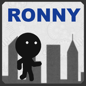Ronny The Stickman Runner icon