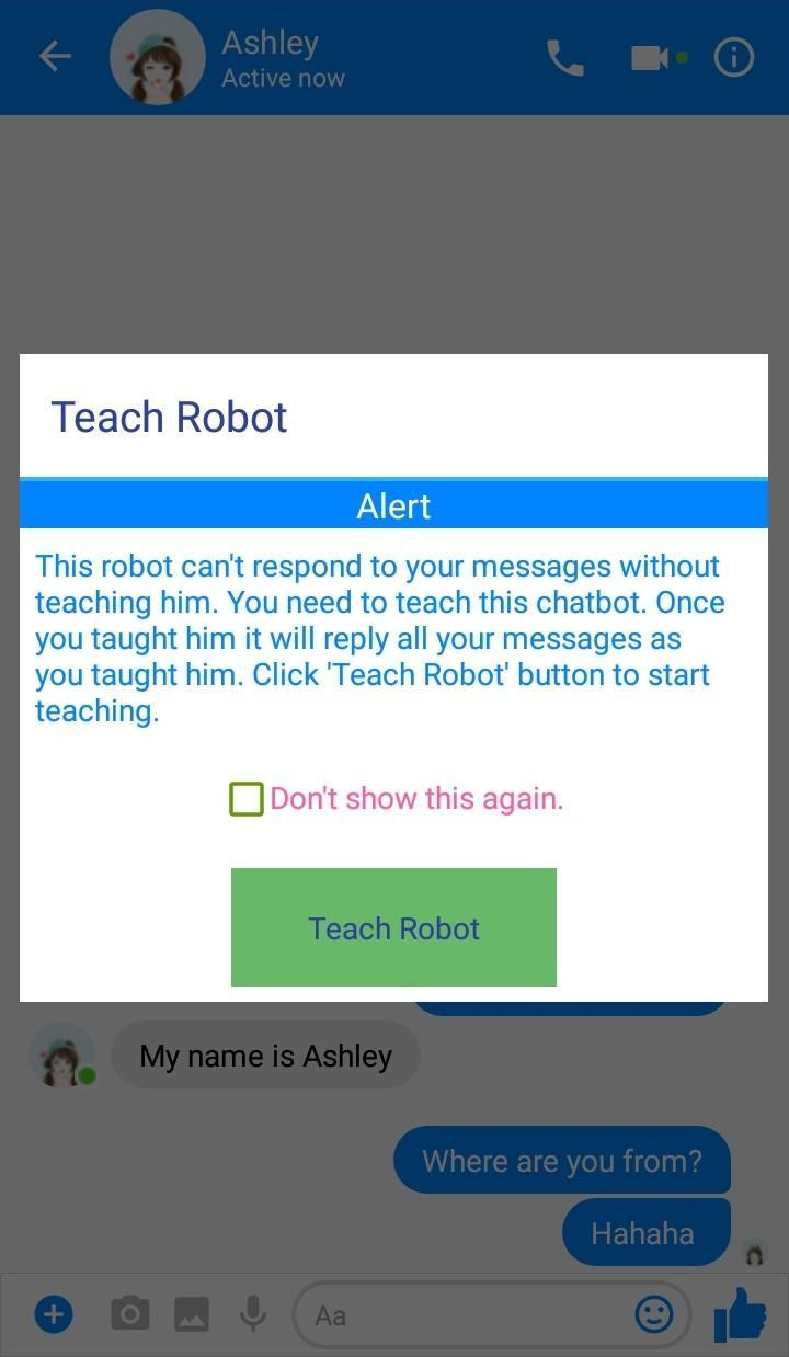 Fake Chat Conversation Chatbot Offline for Android - APK Download