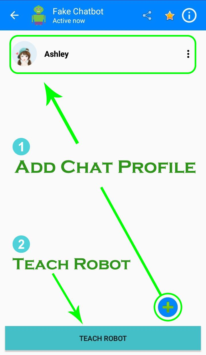 Fake Chat Conversation Chatbot Offline for Android - APK