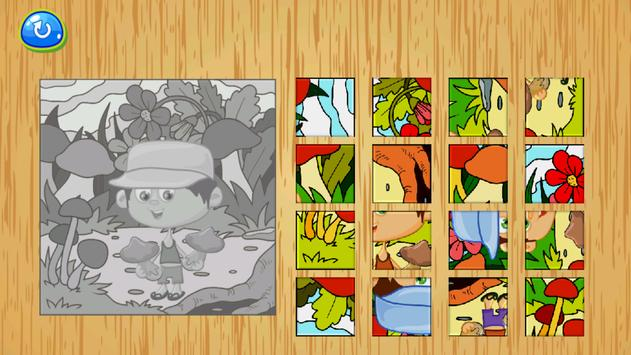 Little Puzzlers Vegetables|Puzzles for kids poster