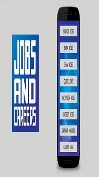 Jobs and Careers Search poster
