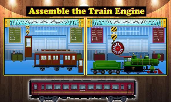 Train Engine Factory: Builder & Maker Game screenshot 1