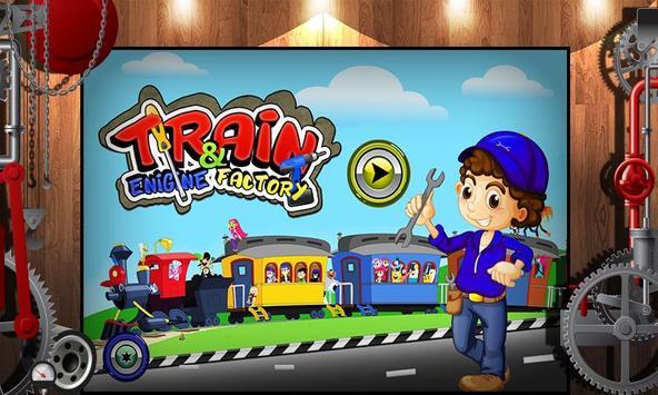 Train Engine Factory: Builder & Maker Game screenshot 3