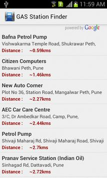 GAS Station Finder screenshot 1