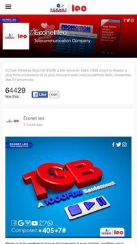 Econet Burundi apk screenshot